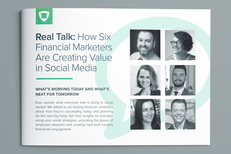 How Six Financial Marketers Are Creating Value in Social Media